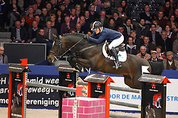 Kurten Jessica (IRL) - Zapatero VDL<br /> KWPN Stallion Selection - 's Hertogenbosch 2014<br /> © Dirk Caremans