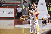DESCRIZIONE : Campionato 2014/15 Virtus Acea Roma - Giorgio Tesi Group Pistoia<br /> GIOCATORE : Lorenzo D'Ercole<br /> CATEGORIA : Palleggio Schema Mani<br /> SQUADRA : Virtus Acea Roma<br /> EVENTO : LegaBasket Serie A Beko 2014/2015<br /> GARA : Dinamo Banco di Sardegna Sassari - Giorgio Tesi Group Pistoia<br /> DATA : 22/03/2015<br /> SPORT : Pallacanestro <br /> AUTORE : Agenzia Ciamillo-Castoria/GiulioCiamillo<br /> Predefinita :