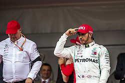 May 26, 2019 - Monte Carlo, Monaco - Motorsports: FIA Formula One World Championship 2019, Grand Prix of Monaco, ..Ron Meadows (GBR, Mercedes AMG Petronas Motorsport), #44 Lewis Hamilton (GBR, Mercedes AMG Petronas Motorsport) (Credit Image: © Hoch Zwei via ZUMA Wire)