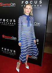 Naomi Watts at the Focus Features Luncheon during CinemaCon 2017 at Caesars Palace in Las Vegas, USA