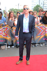 © Licensed to London News Pictures. 20/06/2014, UK.  Louis Walsh, The X Factor - London auditions photocall, Emirates Stadium, London UK, 20 June 2014. Photo credit : Richard Goldschmidt/Piqtured/LNP
