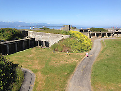 Bunkers, Fort Casey State Park, Whidbey Island, Washington, US