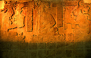 MEXICO, MAYAN, PALENQUE relief shows King Kan-Xul and King Pacal
