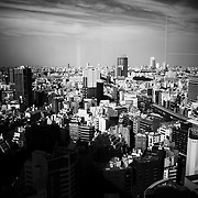 TOKYO, JAPAN - OCTOBER 20 : A view of Shinjuku district Tokyo, Japan on October 20, 2015. <br /> <br /> Photo: Richard Atrero de Guzman