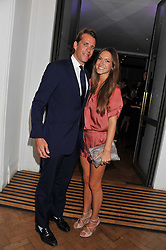 BEN & MARIE-CLARE ELLIOT at the Quintessentially Awards at Number One Marylebone, London on 28th September 2011.