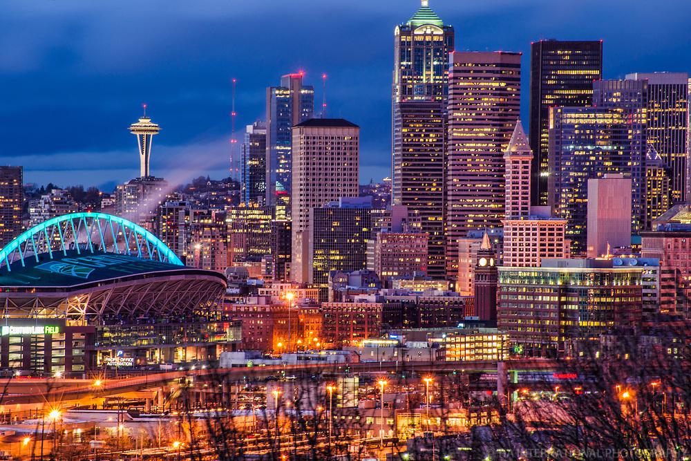 CenturyLink Field & Downtown Seattle