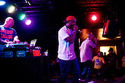 Dead Prez bringing their own form of mastery to The Firebird in Saint Louis, Missouri, with The Earthworms and Tef Poe and Rockwell Knuckles on August 15th, 2011.