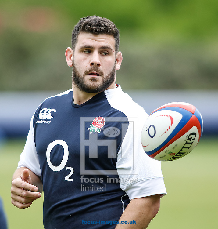Picture by Andrew Tobin/Focus Images Ltd +44 7710 761829.24/05/2013.Rob Webber who captains England during the England training session at Pennyhill Park, Bagshot ahead of the match against the Barbarians on 26th May 2013.