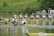 Lucerne, SWITZERLAND. Men's Eights Final, CAN M8+, after winning the bronze medal, at the  2008 FISA World Cup Regatta, Round 2.  Lake Rotsee, on Sunday, 01/06/2008.  [Mandatory Credit:  Peter Spurrier/Intersport Images].Lucerne International Regatta. Rowing Course, Lake Rottsee, Lucerne, SWITZERLAND.