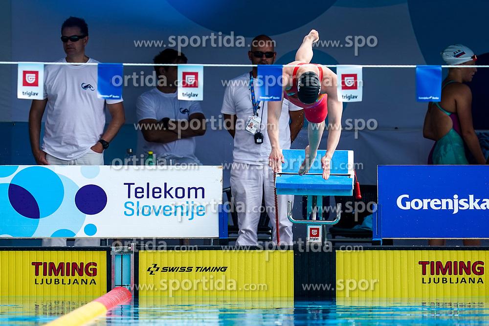 "Tjasa Vozel of Slovenia during 43rd International Swimming meeting ""Telekom 2019"", on July 13, 2019 in Radovljica, Slovenia. Photo by Matic Klansek Velej / Sportida"