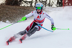 03.01.2020, Hochstein, Lienz, AUT, OeSV, Training Slalom, im Bild Fabio Gstrein (AUT) // Fabio Gstrein of Austria during a Slalom training session in preparation for the upcoming FIS Alpine Skiing World Cup Zagreb at the Hochstein in Lienz, Austria on 2020/01/03. EXPA Pictures © 2019, PhotoCredit: EXPA/ Lukas Huter