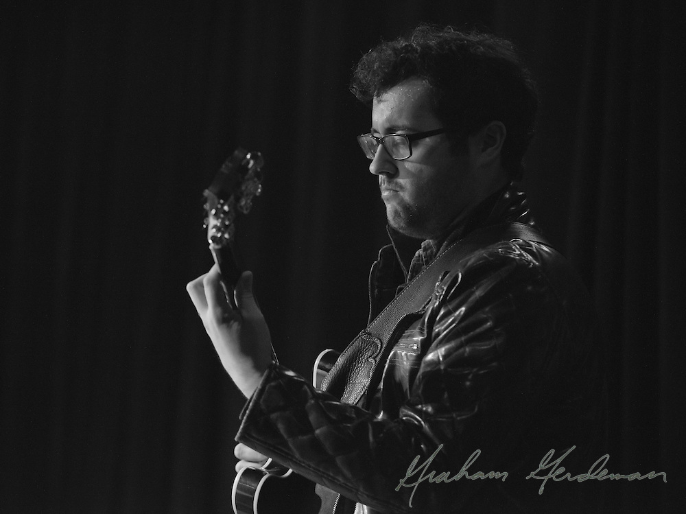 "Virtuoso guitarist James DaSilva performs with David Liebman, Jeff Coffin, and an all-star rhythm section at the saxophonists' tribute to Miles Davis's ""On the Corner"" sessions, live at Nashville's 3rd and Lindsley."