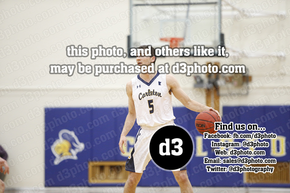 Men's Basketball: Carleton College Knights vs. Augsburg University Auggies
