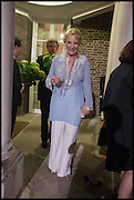 PRINCESS MICHAEL OF KENT, Cartier dinner in celebration of the Chelsea Flower Show. The Palm Court at the Hurlingham Club, London. 19 May 2014.
