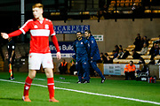 Middlesbrough Professional Development Lead Coach (U23) Paul Stephenson during the EFL Trophy match between Port Vale and U21 Middlesbrough at Vale Park, Burslem, England on 16 October 2018.