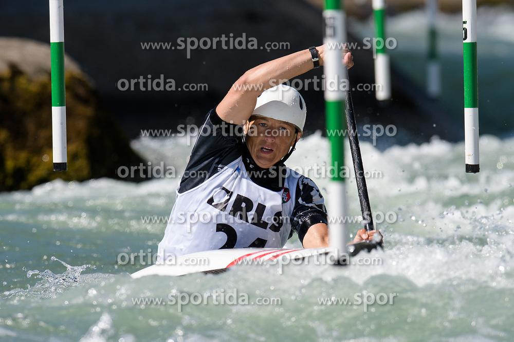 Joanna MEDON of Poland during the Canoe Single (WK1) Womens Semi Final race of 2019 ICF Canoe Slalom World Cup 4, on June 28, 2019 in Tacen, Ljubljana, Slovenia. Photo by Sasa Pahic Szabo / Sportida