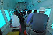 Eilat Israel underwater observatory tourists in a submarine