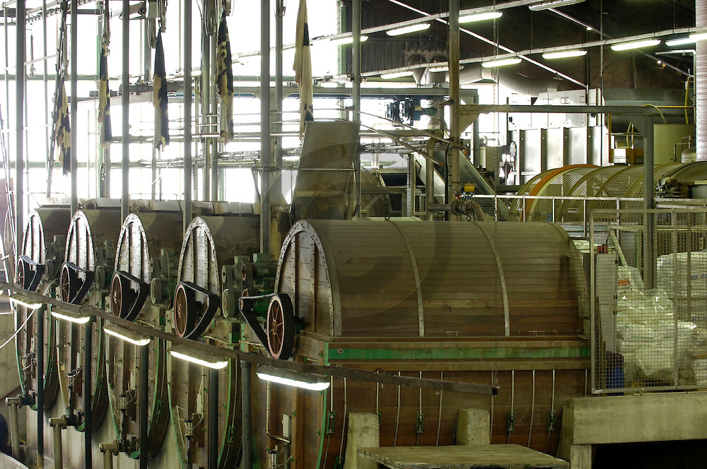 18/04/05 - ANNONAY - ARDECHE - FRANCE - Tannerie d Annonay - Photo Jerome CHABANNE