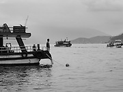 Many scuba dive boats and companies operate out of Nha Trang, Vietnam.