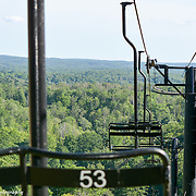 Summer View Off Of A Ski Lift At Shanty Creek Resort