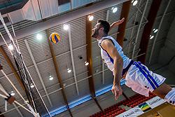 18-08-2017 NED: Oefeninterland Nederland - Italië, Doetinchem<br /> De Nederlandse volleybal mannen spelen hun eerste oefeninterland van twee in SaZa topsporthal tegen Italie als laatste voorbereiding op het EK in Polen. Nederland verliest met 3-0 /