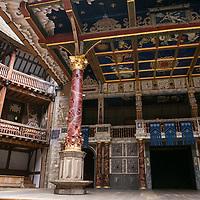 The Globe Theatre;<br /> Shakespeare's Globe, London, UK;<br /> 19 May 2015;<br /> © Pete Jones