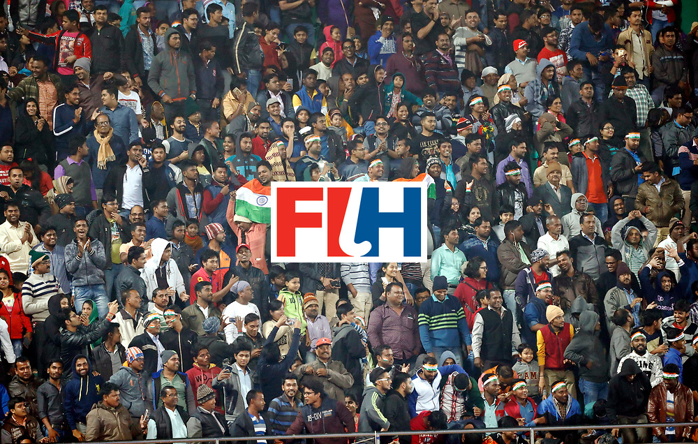 Odisha Men's Hockey World League Final Bhubaneswar 2017<br /> Match id:13<br /> Belgium v India<br /> Foto: Fans<br /> COPYRIGHT WORLDSPORTPICS KOEN SUYK