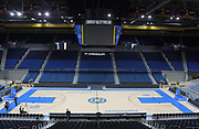 Nov 15, 2017; Los Angeles, CA, USA; General overall view of Pauley Pavilion during a press conference regarding arrest of UCLA Bruins basketball players Jalen Hill, LiAngelo Ball and Cody Riley (not pictured) in China for shoplifting.