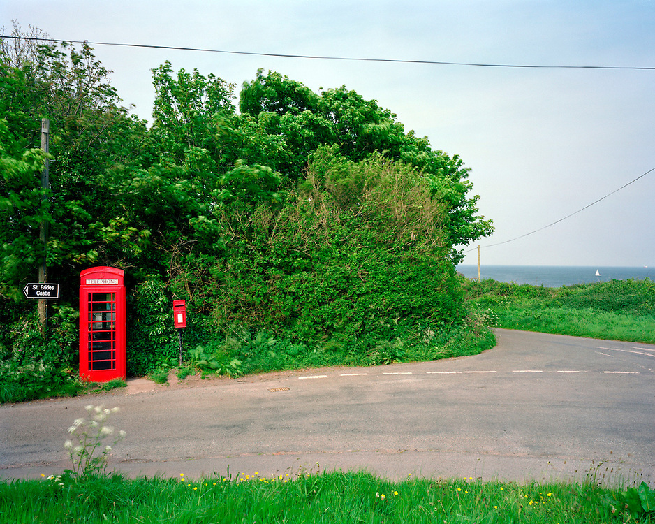 This kiosk is in: Crossroads, St Brides, Pembrokeshire, Wales.<br />