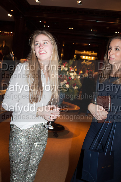 MADDISON MAY BRUDENELL; MRS. CHARLOTTE LAWSON-JOHNSTON, Book launch for ' Daughter of Empire - Life as a Mountbatten' by Lady Pamela Hicks. Ralph Lauren, 1 New Bond St. London. 12 November 2012.