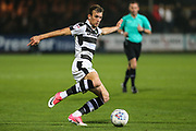 Forest Green Rovers Christian Doidge(9) on the ball during the EFL Sky Bet League 2 match between Cambridge United and Forest Green Rovers at the Cambs Glass Stadium, Cambridge, England on 26 September 2017. Photo by Shane Healey.