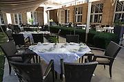 Gartenrestaurant im Hotel Elephant, Weimar, Thüringen, Deutschland   garden restaurant in Hotel Elephant, Weimar, Thuringia, Germany