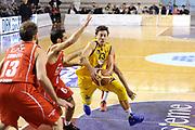 DESCRIZIONE : Ancona Lega A 2012-13 Sutor Montegranaro EA7 Emporio Armani Milano<br /> GIOCATORE : Fabio Di Bella<br /> CATEGORIA : palleggio tiro penetrazione<br /> SQUADRA : EA7 Emporio Armani Milano Sutor Montegranaro<br /> EVENTO : Campionato Lega A 2012-2013 <br /> GARA : Sutor Montegranaro EA7 Emporio Armani Milano<br /> DATA : 25/11/2012<br /> SPORT : Pallacanestro <br /> AUTORE : Agenzia Ciamillo-Castoria/C.De Massis<br /> Galleria : Lega Basket A 2012-2013  <br /> Fotonotizia : Ancona Lega A 2012-13 Sutor Montegranaro EA7 Emporio Armani Milano<br /> Predefinita :
