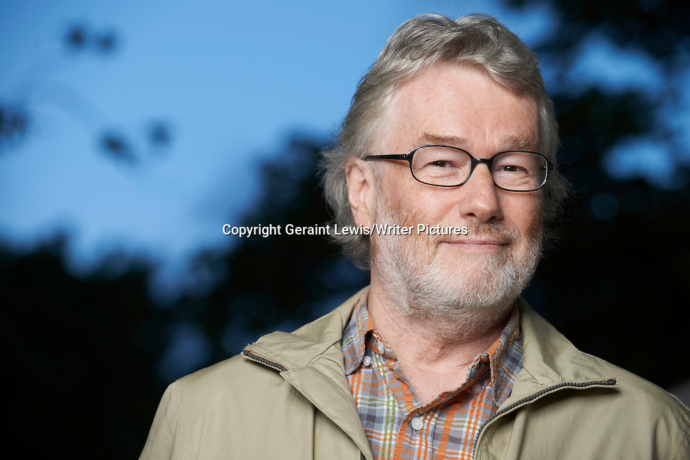Iain Banks, Scottish Writer. Pictured at the Edinburgh International Book Festival. Taken 22nd August 2012<br /> <br /> Credit Geraint Lewis/Writer Pictures