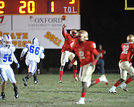 Lafayette High's Brandon Mack (4) vs. Senatobia in Oxford, Miss. on Friday, October 19, 2012. Lafayette High won 23-7.