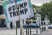 UNITED KINGDOM, London: 03 June 2019<br /> VIP guests arrive at Buckingham Palace as hundreds of protesters gathered outside Buckingham Palace to protest against President Donald Trump as he is due to arrive by helicopter at The Queens residence for an official state banquet.