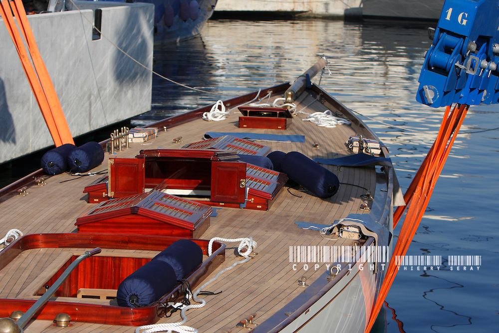MARISKA REFIT : BOAT LAUNCH-SEPTEMBER 11-LA CIOTAT-SOUTH OF FRANCE