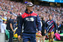 Bristol Rugby Forwards Coach Mark Bakewell looks on - Rogan Thomson/JMP - 03/09/2016 - RUGBY UNION - Twickenham Stadium - London, England - Harlequins v Bristol Rugby - Aviva Premiership London Double Header.