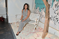 ROXIE NAFOUSI at the Tiffany & Co. Exhibition 'Fifth And 57th' Opening Night held in The Old Selfridges Hotel, Orchard Street, London on 1st July 2015.