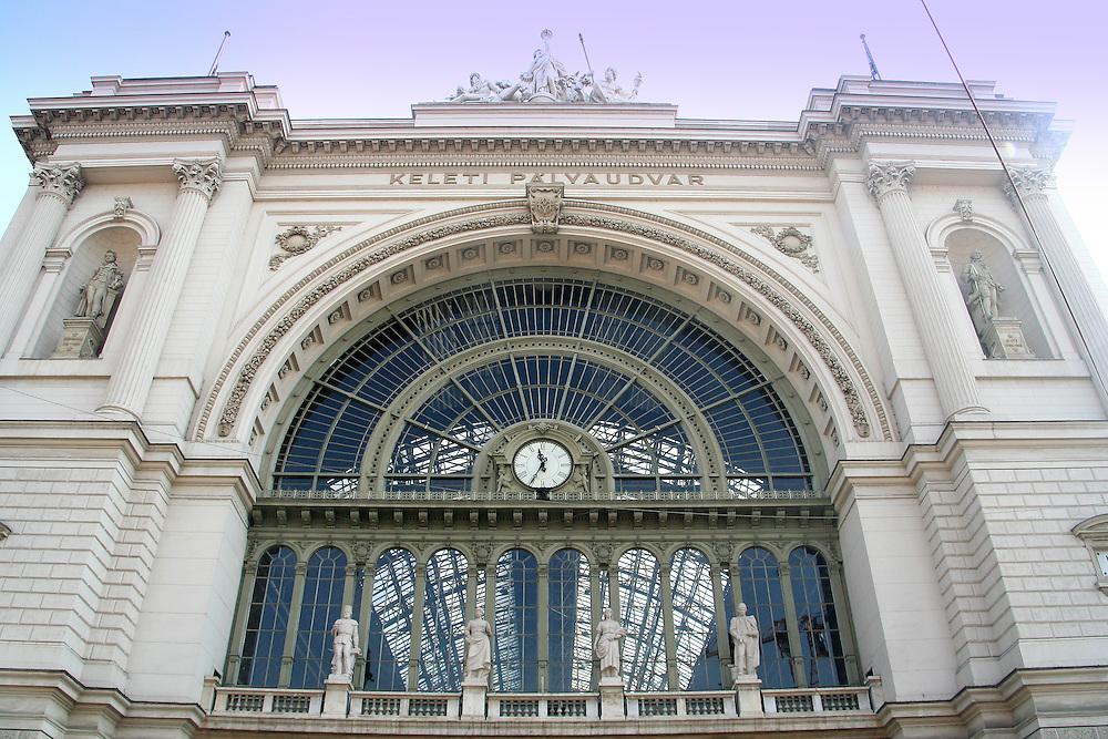 Budapest East Railway Station Budapest (Keleti Pályaudvar), Budapest, Hungary