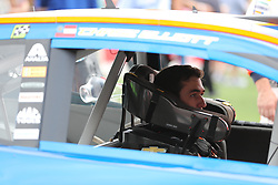 September 30, 2018 - Charlotte, NC, U.S. - CHARLOTTE, NC - SEPTEMBER 30: #9: Chase Elliott, Hendrick Motorsports, Chevrolet Camaro SunEnergy1  before the Monster Energy NASCAR Cup Series Playoff Race Bank of America ROVAL 400 on September 30, 2018, at Charlotte Motor Speedway in Concord, NC. (Photo by Jaylynn Nash/Icon Sportswire) (Credit Image: © Jaylynn Nash/Icon SMI via ZUMA Press)