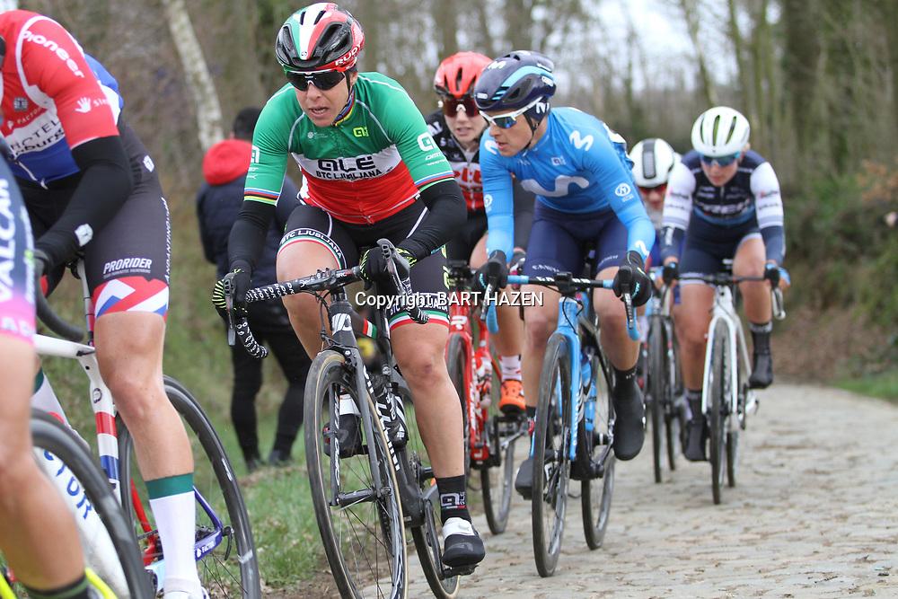 01-03-2020: Wielrennen: Hageland vrouwen: Tielt-Winge: Marta Bastianelli