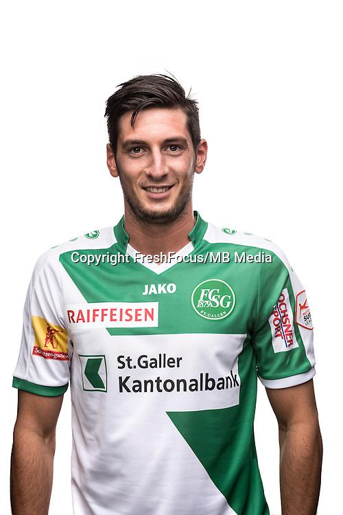 25.07.2016; St.Gallen; Fussball Super League - Portrait FC St.Gallen;<br />Florent Hanin <br />(HO/freshfocus)