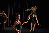 One Youth Dance rehearsals for Uncovered, at Platform Hub, December 20 2014