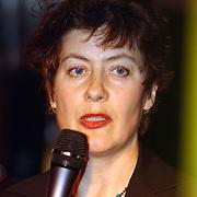Start verkiezingscampagne GroenLinks, Marijke Vos