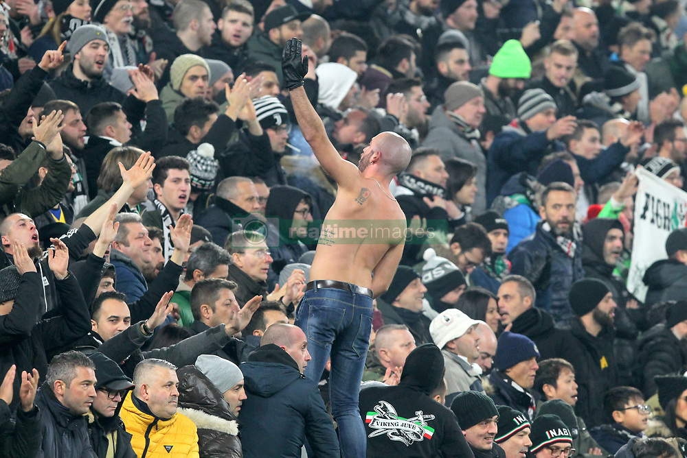 December 7, 2018 - Milan, Piedmont, Italy - Ultras of Juventus during the Serie A football match between Juventus FC and FC Internazionale at Allianz Stadium on December 07, 2018 in Turin, Italy..Juventus won 1-0 over Internazionale. (Credit Image: © Massimiliano Ferraro/NurPhoto via ZUMA Press)