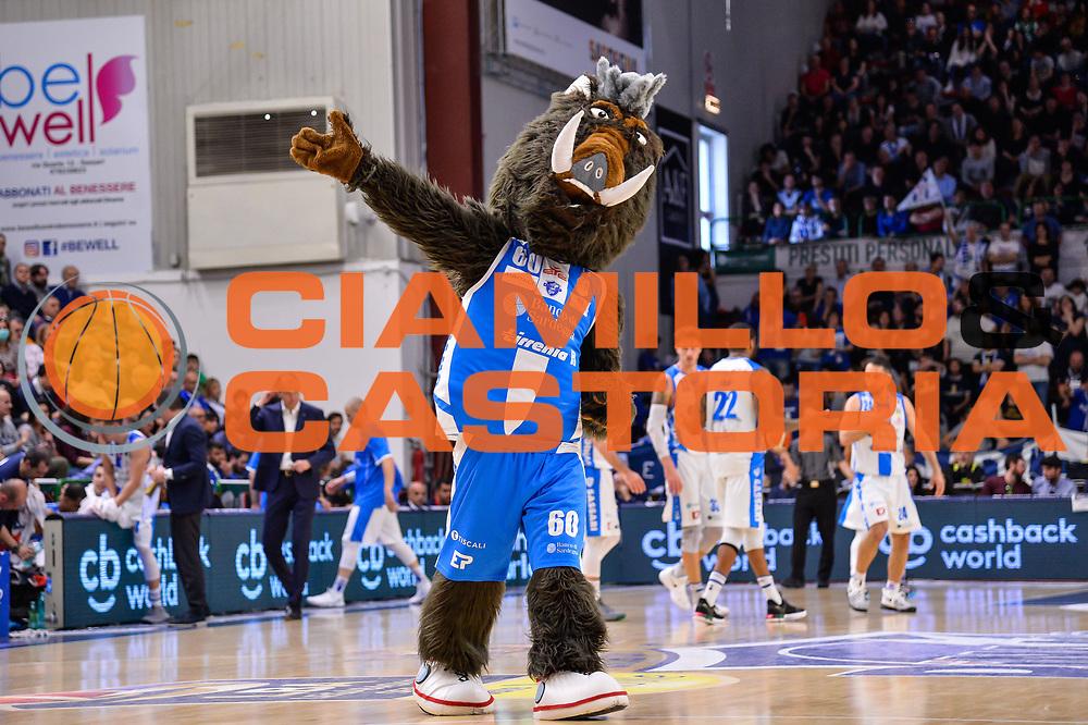 Sirbo<br /> Banco di Sardegna Dinamo Sassari - Germani Basket Leonessa Brescia<br /> Legabasket Serie A LBA PosteMobile 2017/2018<br /> Sassari, 08/04/2018<br /> Foto L.Canu / Ciamillo-Castoria