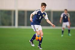 EDINBURGH, SCOTLAND - Friday, November 4, 2016: Scotland's Marc Leonard in action against Republic of Ireland during the Under-16 2016 Victory Shield match at ORIAM. (Pic by David Rawcliffe/Propaganda)
