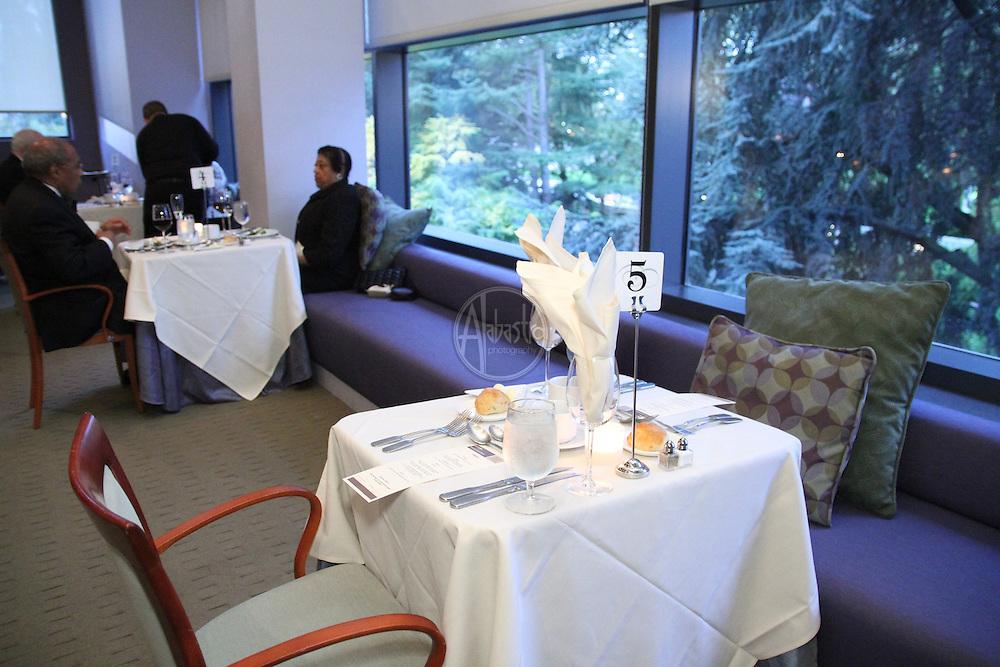 Opening Night Dinner for Fidelio, Seattle Opera 2012-13.