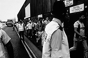 Mansfield Park holligans away at Nottingham CO.FC, U.K, 1990.